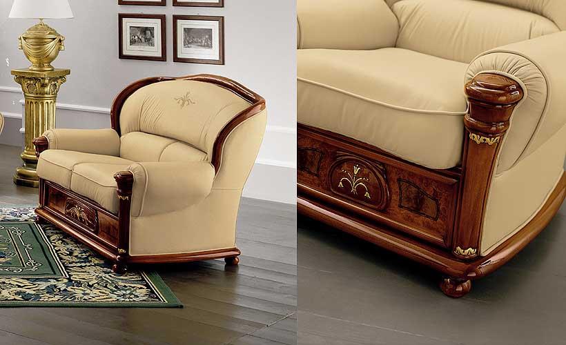 Кожаная мебель из Италии